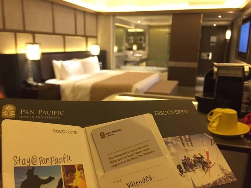 Pan Pacific Singapore - hotel room