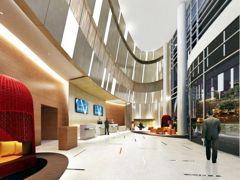 Novotel Manila Lobby 1