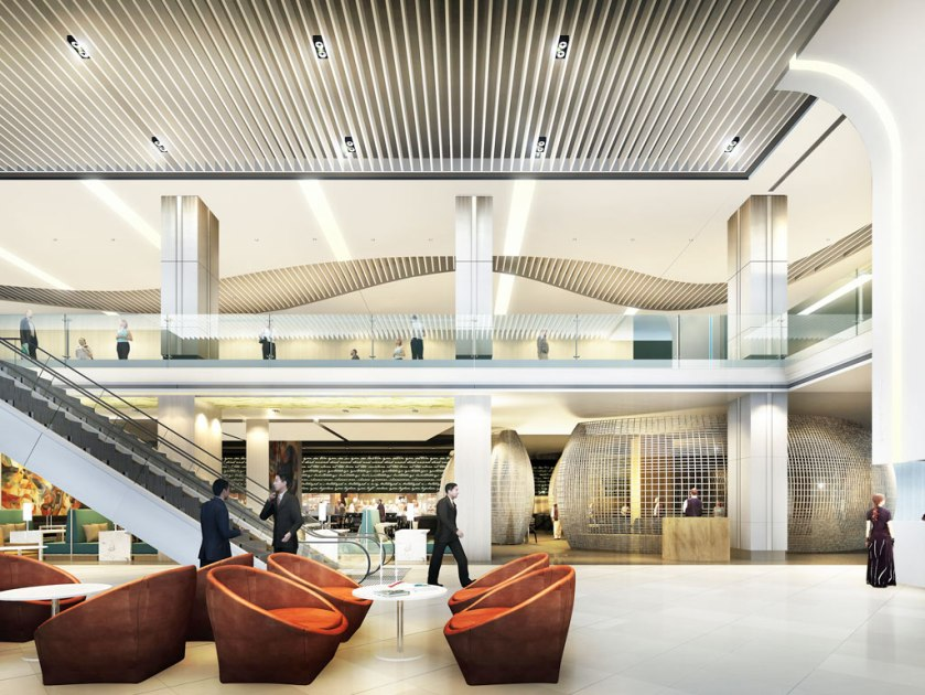 Novotel Manila Lobby