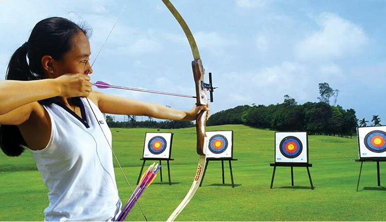 Bintan Lagoon Resort - Archery