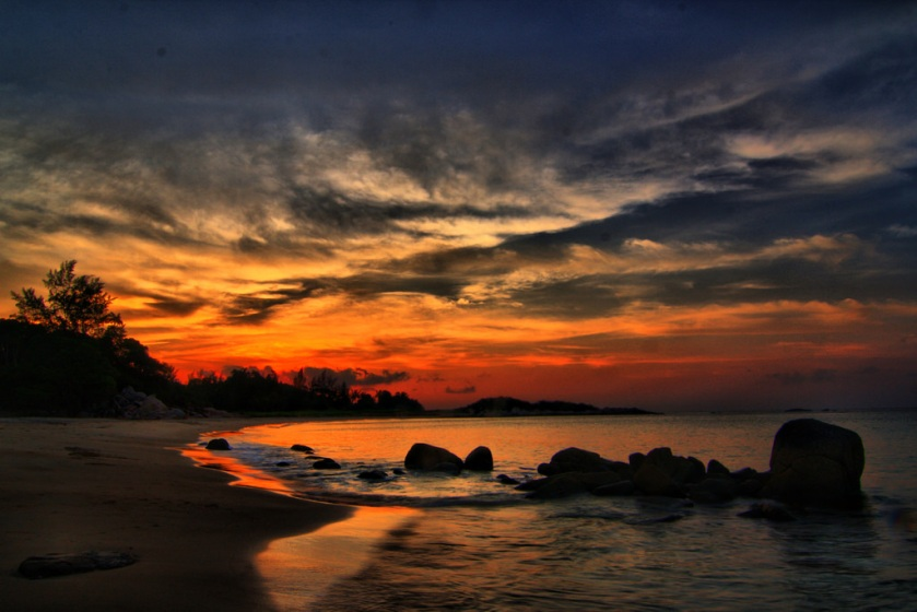 Sunset Over Bintan