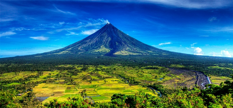 Mayon Volcano in Bicol