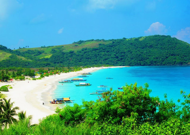 Calaguas: Tinaga Island where Mahabang Buhangin Beach is located.