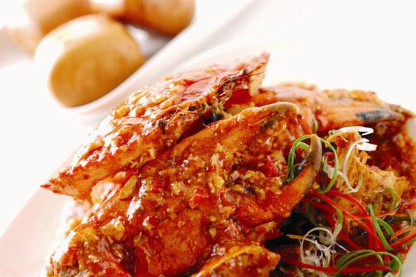 Chili Crab in Singapore