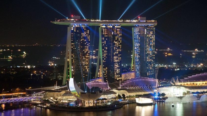 Marina Bay Sands Singapore - foundtheworld.com