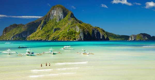 The world famous El Nido in Palawan