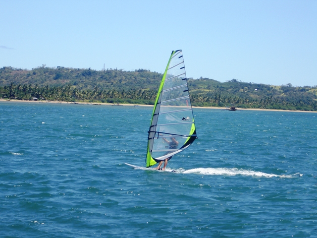 Windsurfing in Bulalacao Mindoro