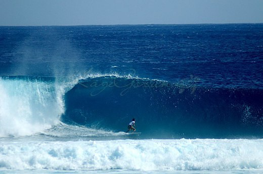 Surfing at Calicoan Island Photo