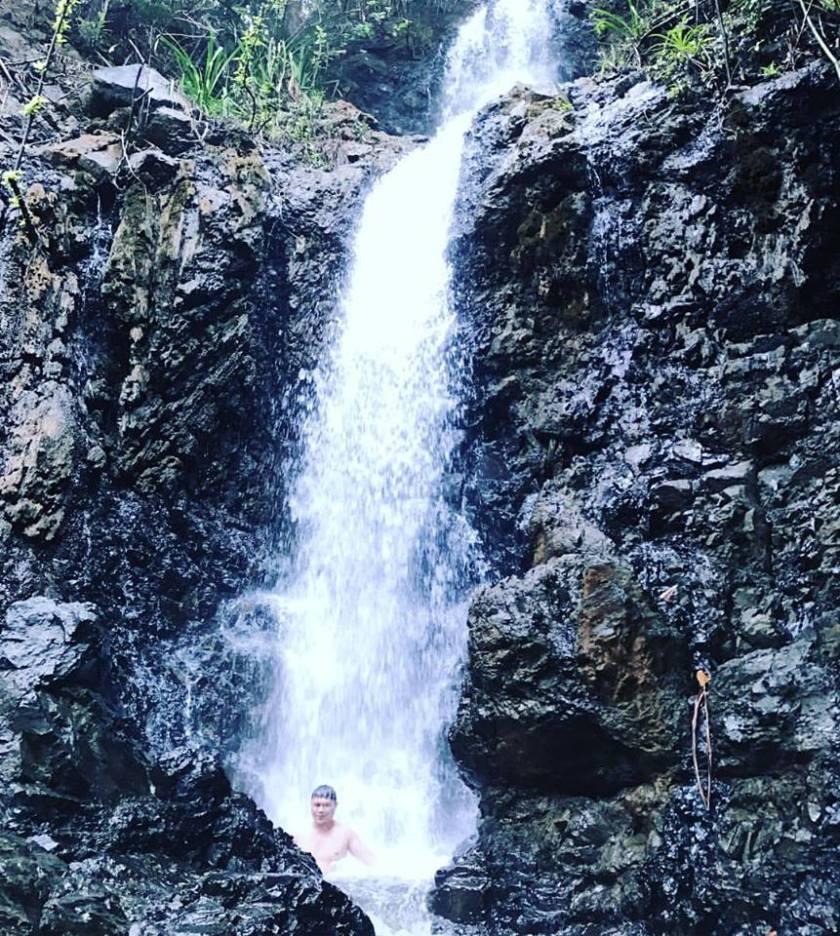 Diguisit Falls in Baler Aurora
