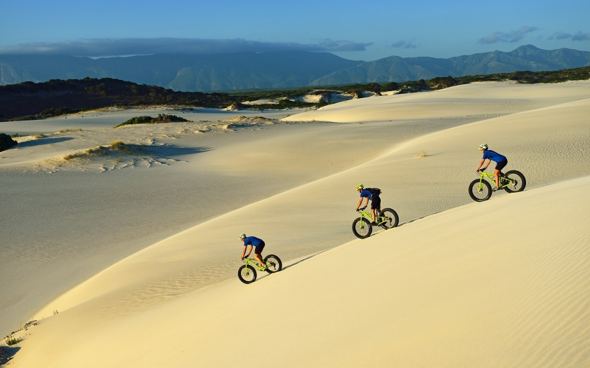 Fatbike tour in South Africa
