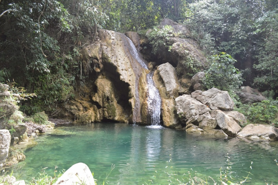 Mainit Falls in Romblon