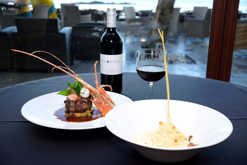 A dinner by the beach with your favorite wine? If it isn't perfect, what is?