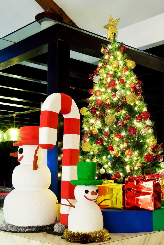 Christmas Tree at Bintan Lagoon Resort