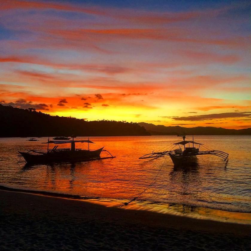 Port Barton Sunset - @robbie.m86