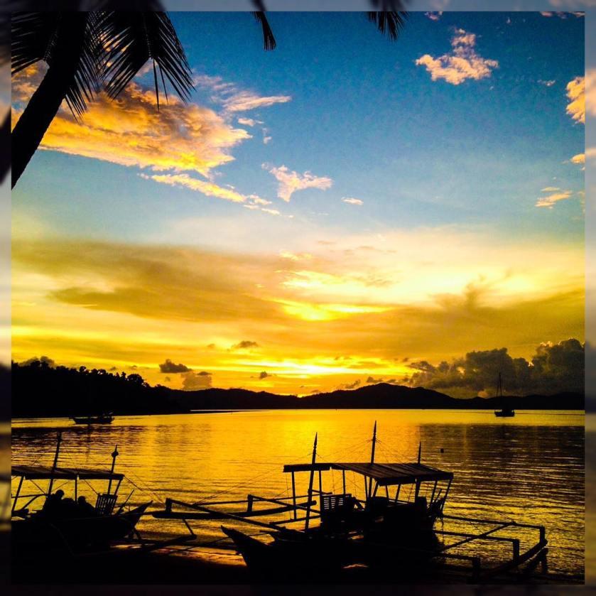 01 Port Barton Sunset - @lovelypfleider