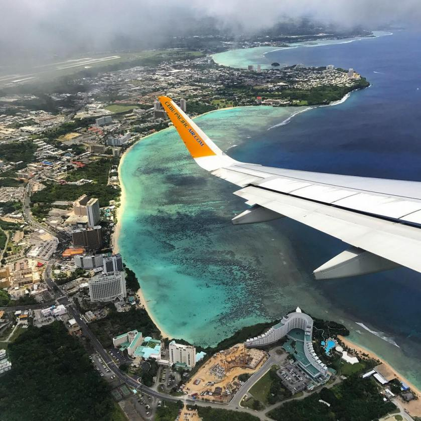 Guam from above - Lieana Nunez