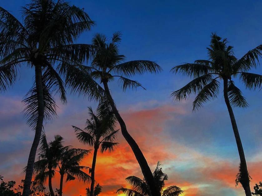 Sunset in Guam - @uzumakifu