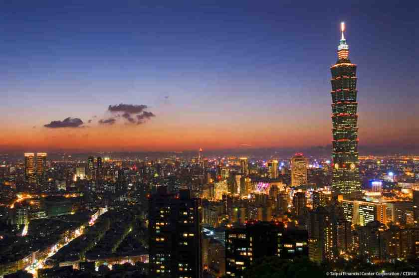 Taiwan's Taipei 101 is a beauty